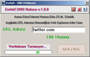 ZorlaX DNS Makinası